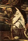 Jacopo Robusti Tintoretto - Christ before Pilate [detail 1]